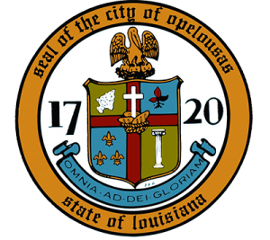 Seal of the City of Opelousas - State of Lousiaina